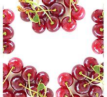 Juicy Cherries Photographic Print