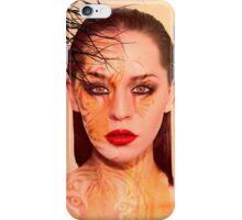 Tiger eyes portrait iPhone Case/Skin