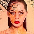 Tiger eyes portrait by shalisa