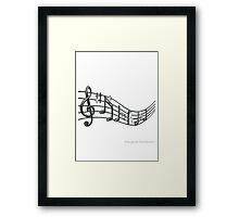 Music Borrowers iphone case Framed Print