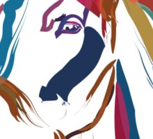 Cool t-shirt Horse Colour me beautiful Sticker