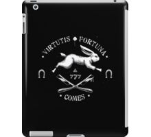 Luck, Companion of Courage iPad Case/Skin