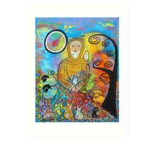 St. Francis and Animals Art Print