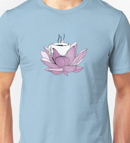 Lotus coffee Unisex T-Shirt