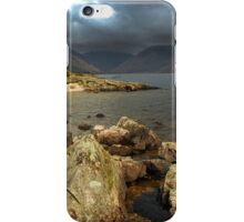 Rocks and Canoe, Wastwater. iPhone Case/Skin
