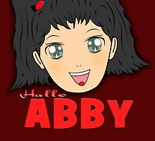 Hallo ABBY (NCIS) - Manga Inspired by CJSDesign