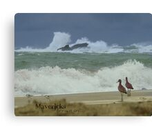 Surfer Report -- Bring it on Canvas Print