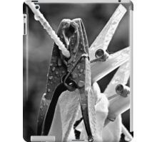 Pegs On The Line iPad Case/Skin