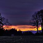 Sunrise in Dallas Oregon by pdsfotoart