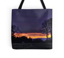 Sunrise in Dallas Oregon Tote Bag