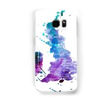 UK map in Watercolours Samsung Galaxy Case/Skin
