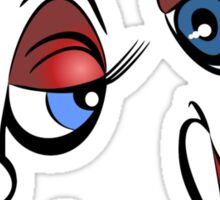 Cartoon Eyes - Forever Yours Sticker