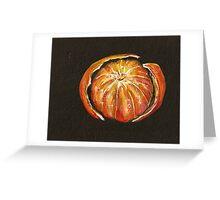 Orange One Greeting Card