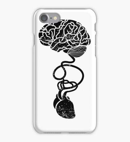 Heart and Brain Connected iPhone Case/Skin