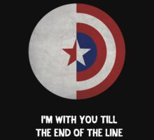 Cap and Bucky White Text by dftba-