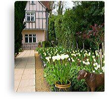Pashley Manor Gardens Canvas Print