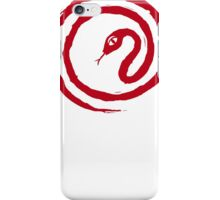 Chinese Galligraphic Snake as Symbol of Year 2013 iPhone Case/Skin