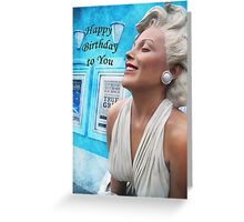 "Fantasy in White ""Happy Birthday"" ~ Greeting Cards and More Greeting Card"