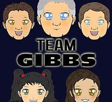Team Gibbs (Ziva Edition) - Manga Inspired by CJSDesign