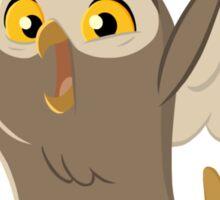 Excited Owl Sticker