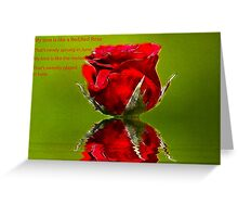 Red Red Rose #2 Greeting Card