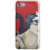 She's an Odd Bird: The Black Swan iPhone Case/Skin
