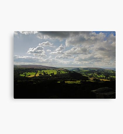 Across the Dales Canvas Print