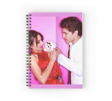 Keegan and Troian Spiral Notebook