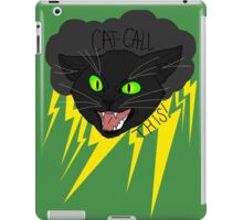 CAT CALL THIS // BLACK CAT iPad Case/Skin