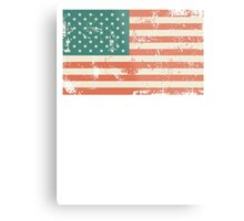 Grungy US flag Metal Print