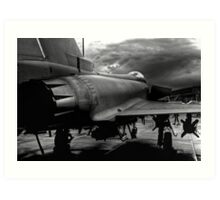 The Typhoon Art Print