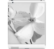 Dogwoods in Black and White iPad Case/Skin