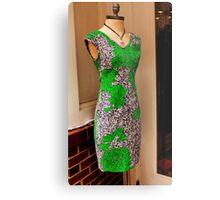 Green dress Metal Print