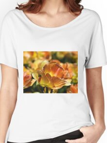 Spring Tulip Women's Relaxed Fit T-Shirt