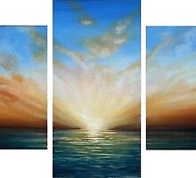 Panoramic Sunset by Cherie Roe Dirksen