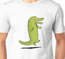 Dancing Crocodile Unisex T-Shirt