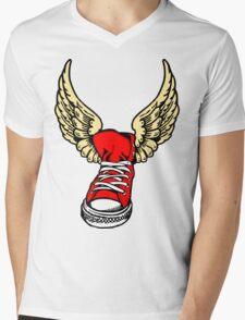 Winged Victory Mens V-Neck T-Shirt
