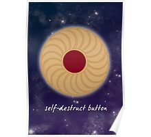 Self-Destruct Button Poster