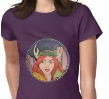 Hide and Seek Cameo Womens Fitted T-Shirt