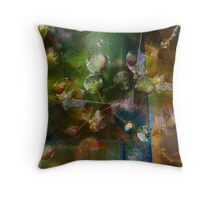 Indra's Web Linaji Style Throw Pillow