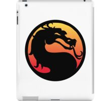 mortal kombat logo iPad Case/Skin