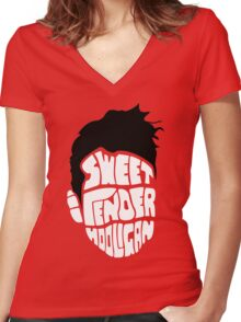 Sweet and Tender Hooligan Women's Fitted V-Neck T-Shirt