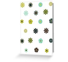 flower stickers Greeting Card