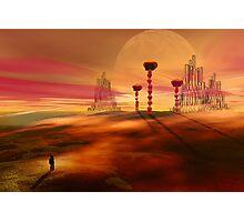 Stranger in an alien landscape Photographic Print