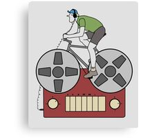 Tape Rider Canvas Print