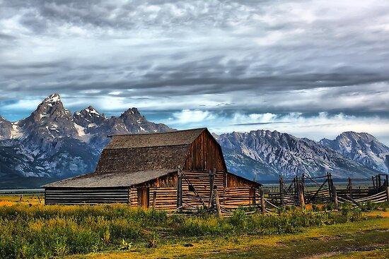 Mormon Row Barn, Grand Teton NP by Teresa Zieba
