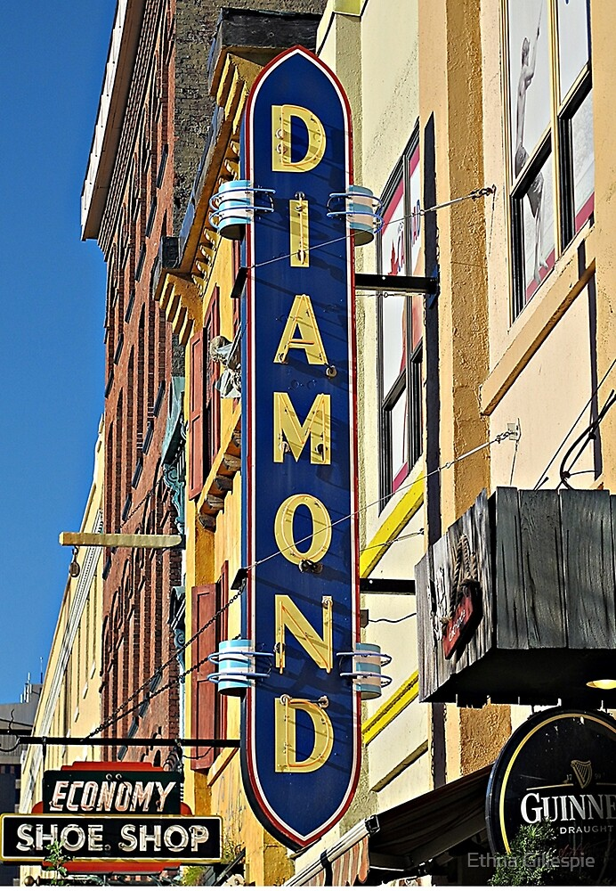 Diamond Sign  by Ethna Gillespie