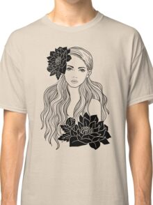 Tropical Girl Classic T-Shirt