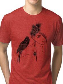 Parrot Girl 2 Tri-blend T-Shirt