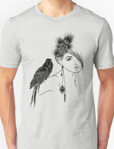 Parrot Girl 2 Unisex T-Shirt